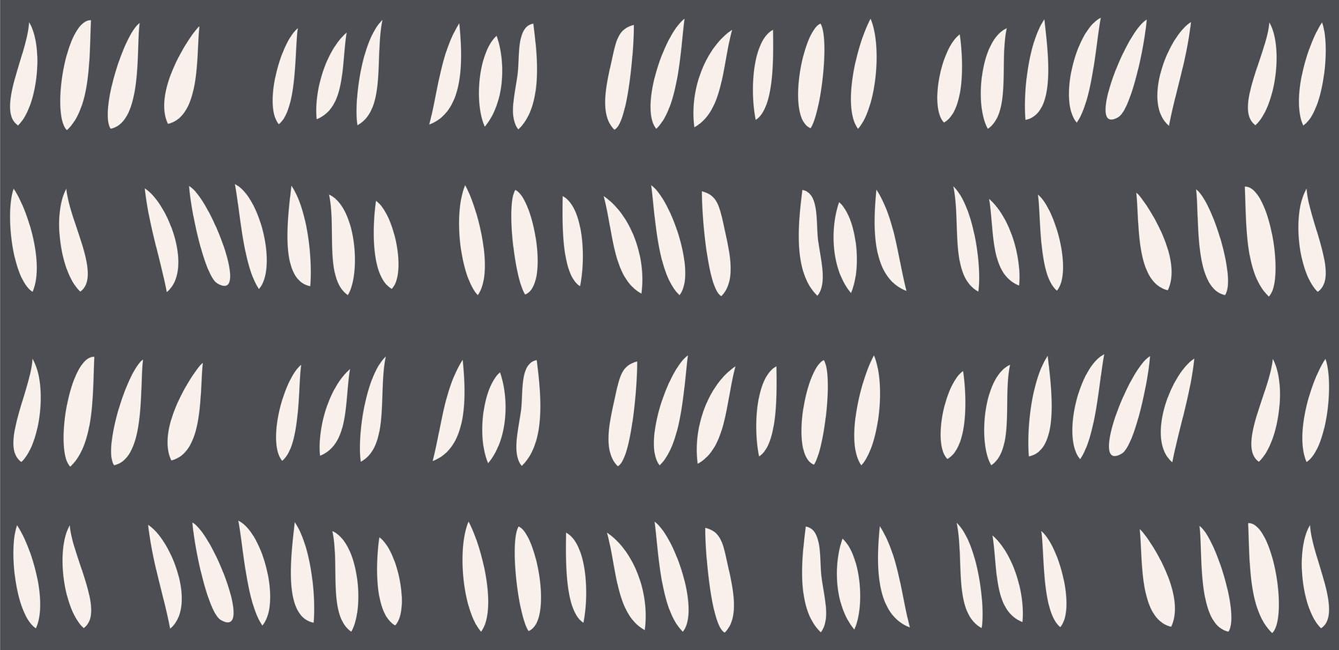 Hash Row Cutouts . Ivory Slate