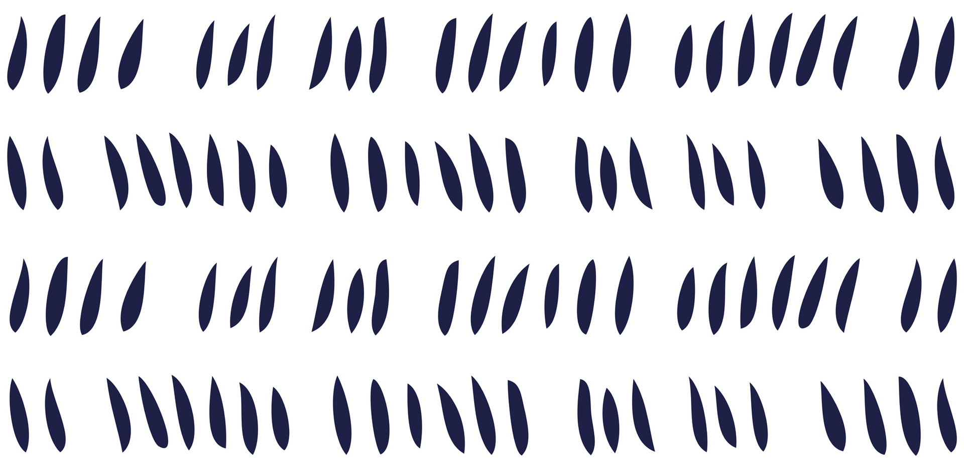 Hash Row Cutouts . Midnight White