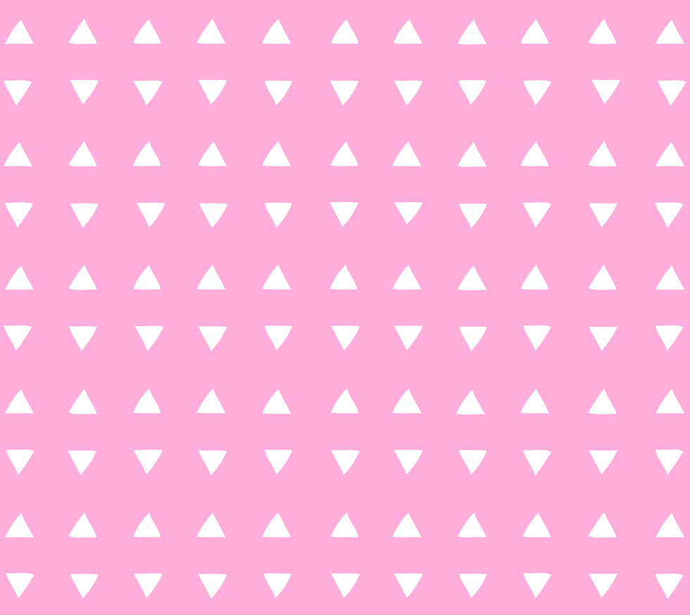 Tiny Triangles . Perfect Pink