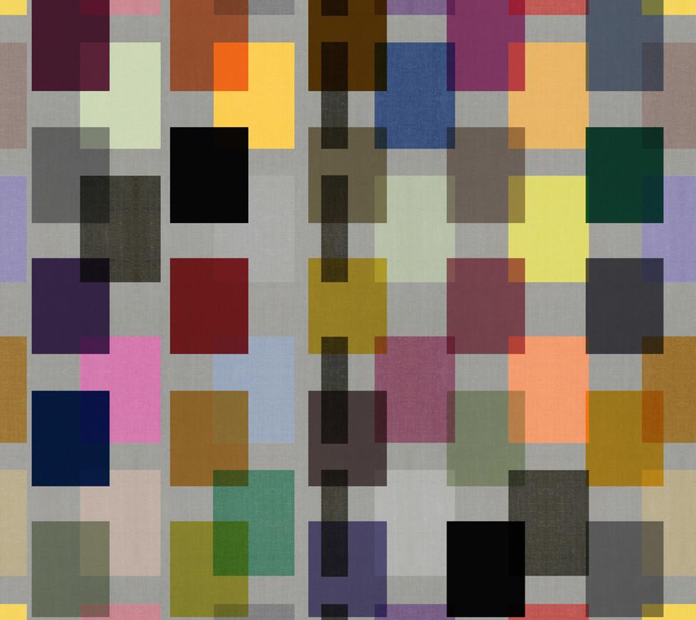 Color Block Linen . Mid-Century Neutral