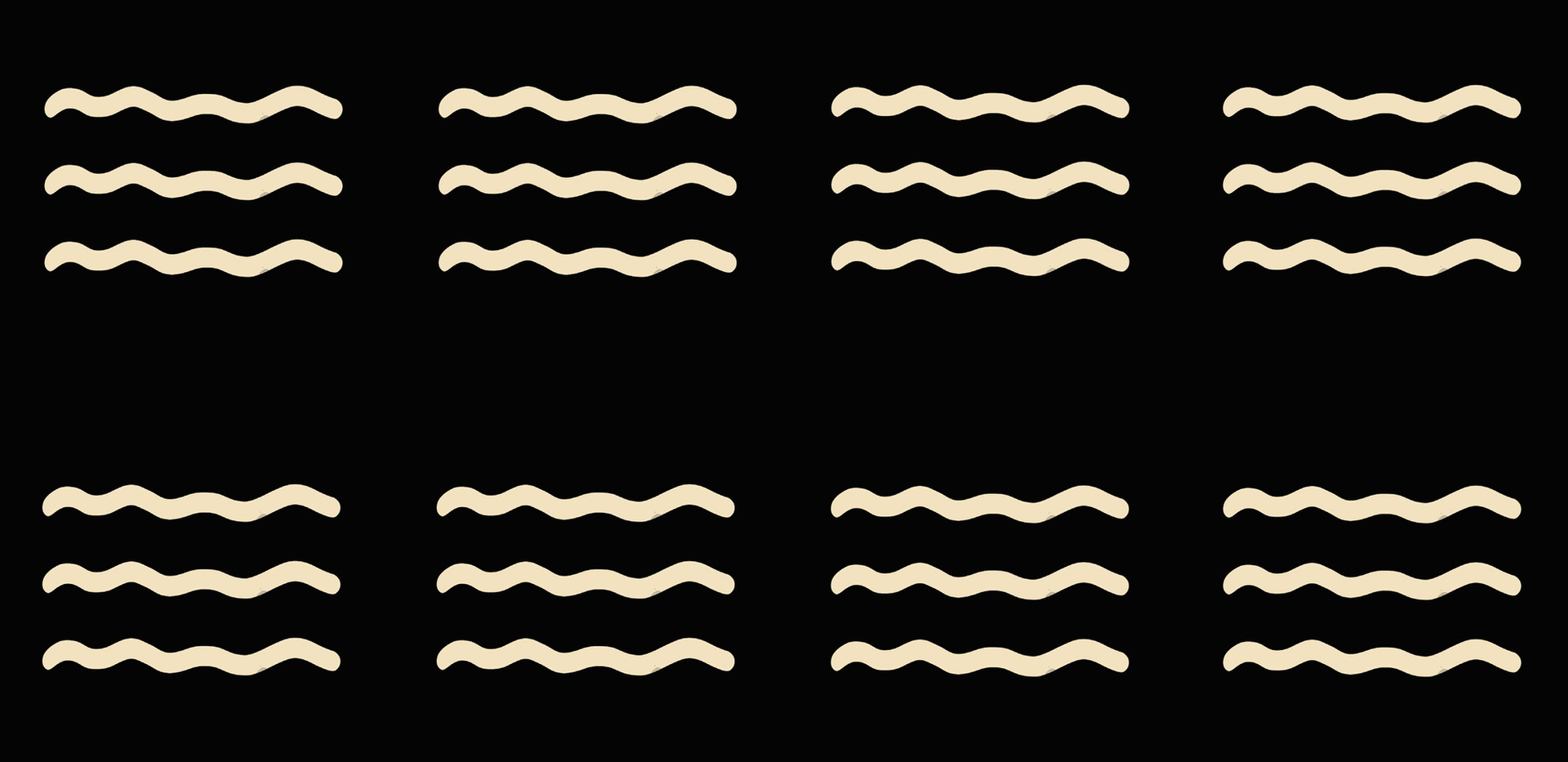 Masai Mara . Ivory Waves . Onyx