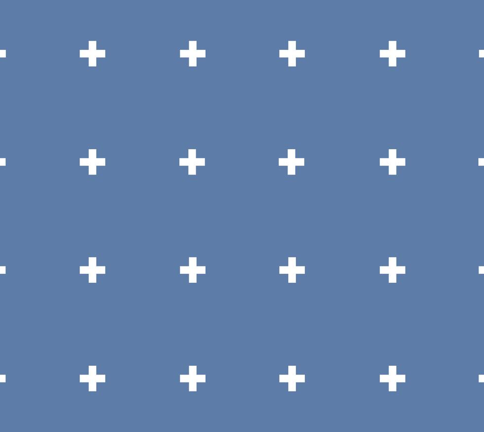 + + + . Azure Plus Signs