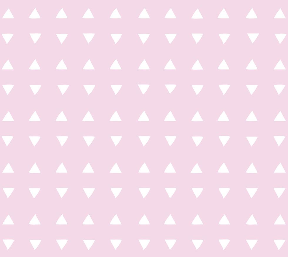 Tiny Triangles . Pretty Pink