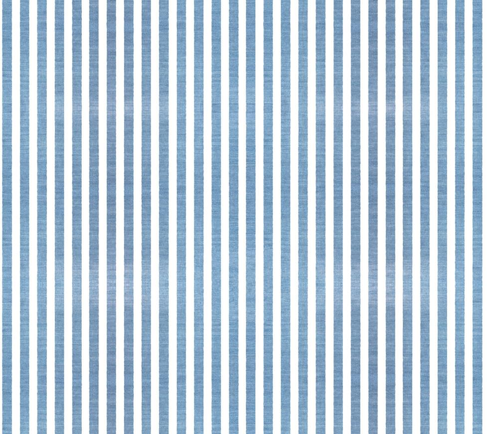Denim Stripes . 501 Washed Blue