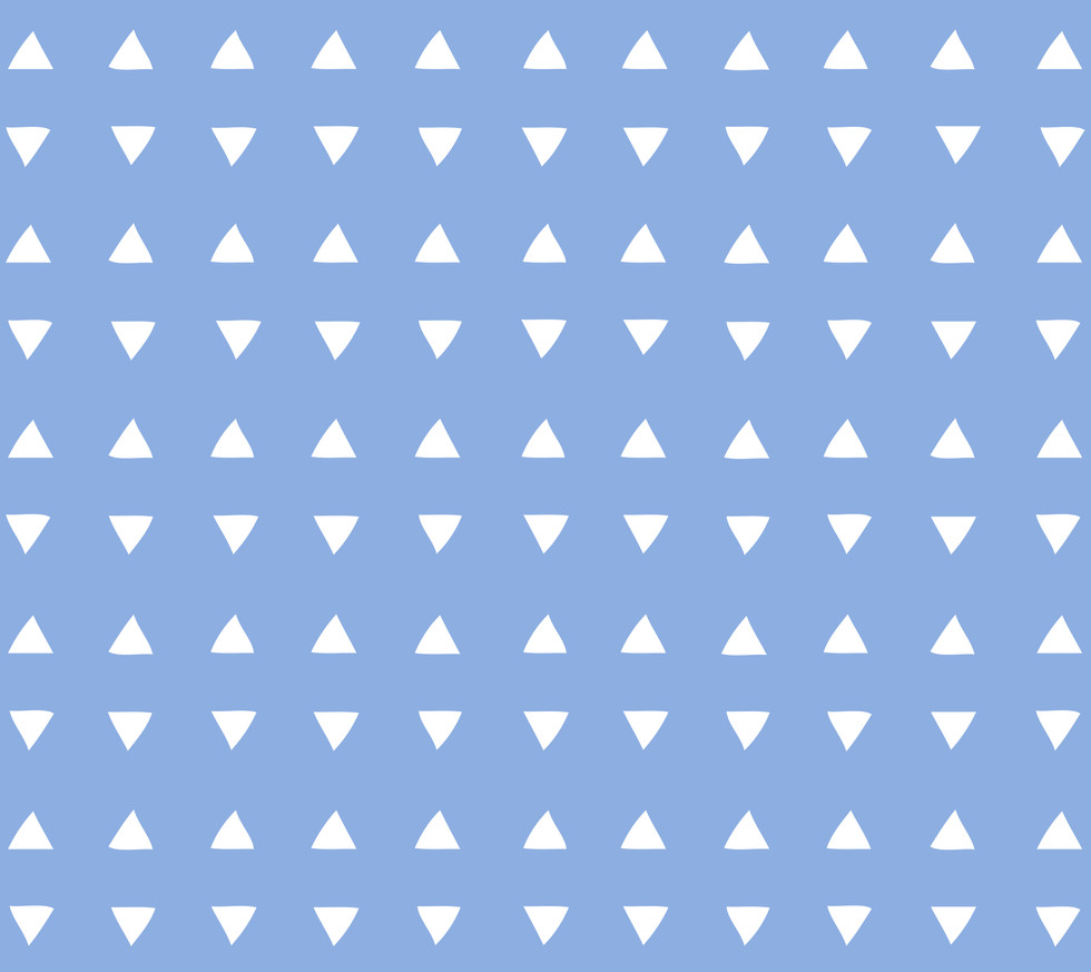 Tiny Triangles . Perfect Blue
