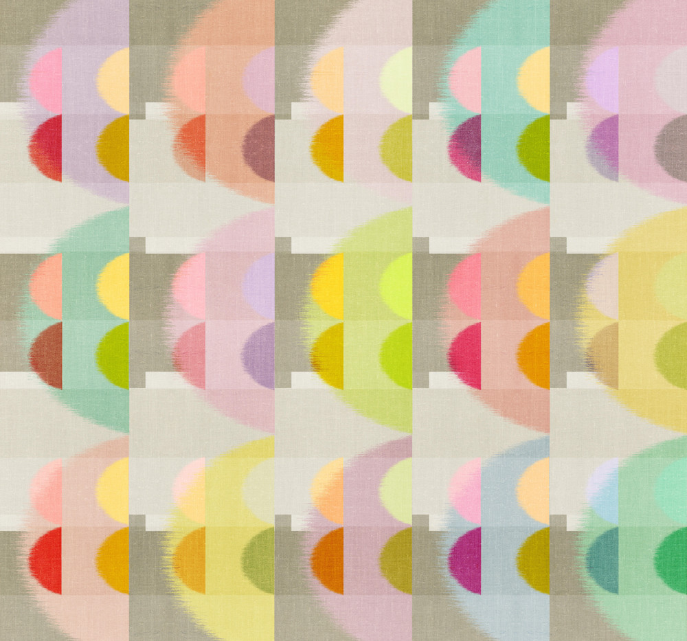 Color Block Linen . Wind