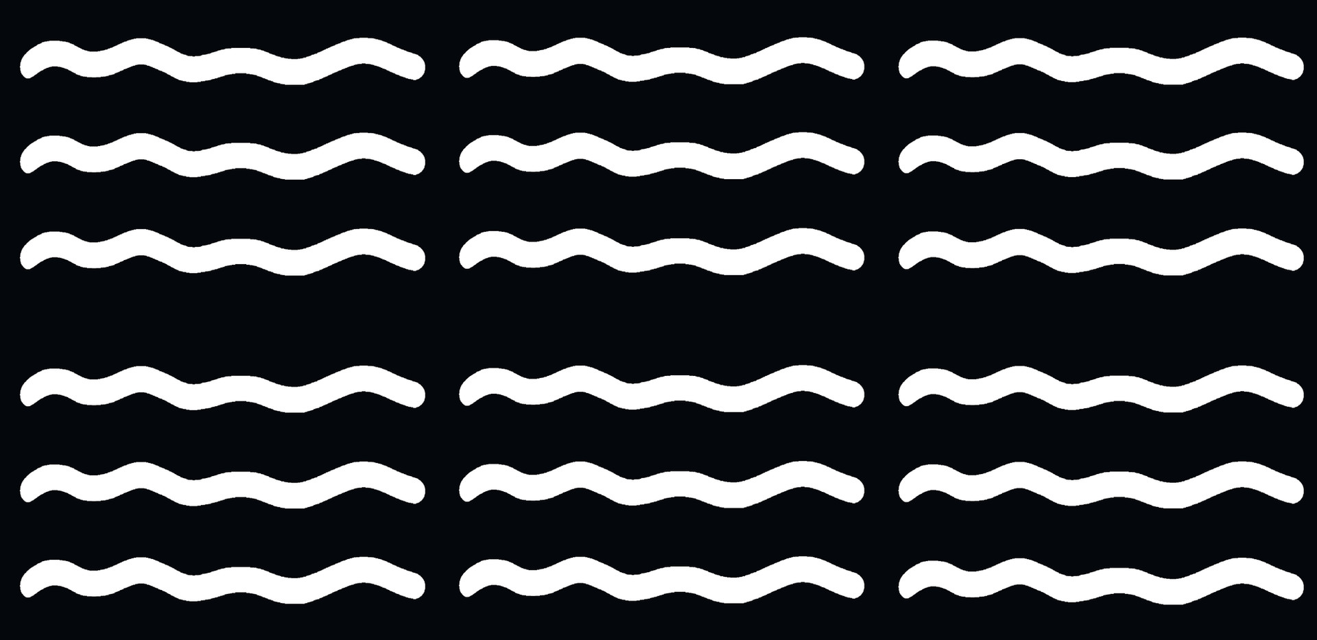 Gentle Waves . Black White