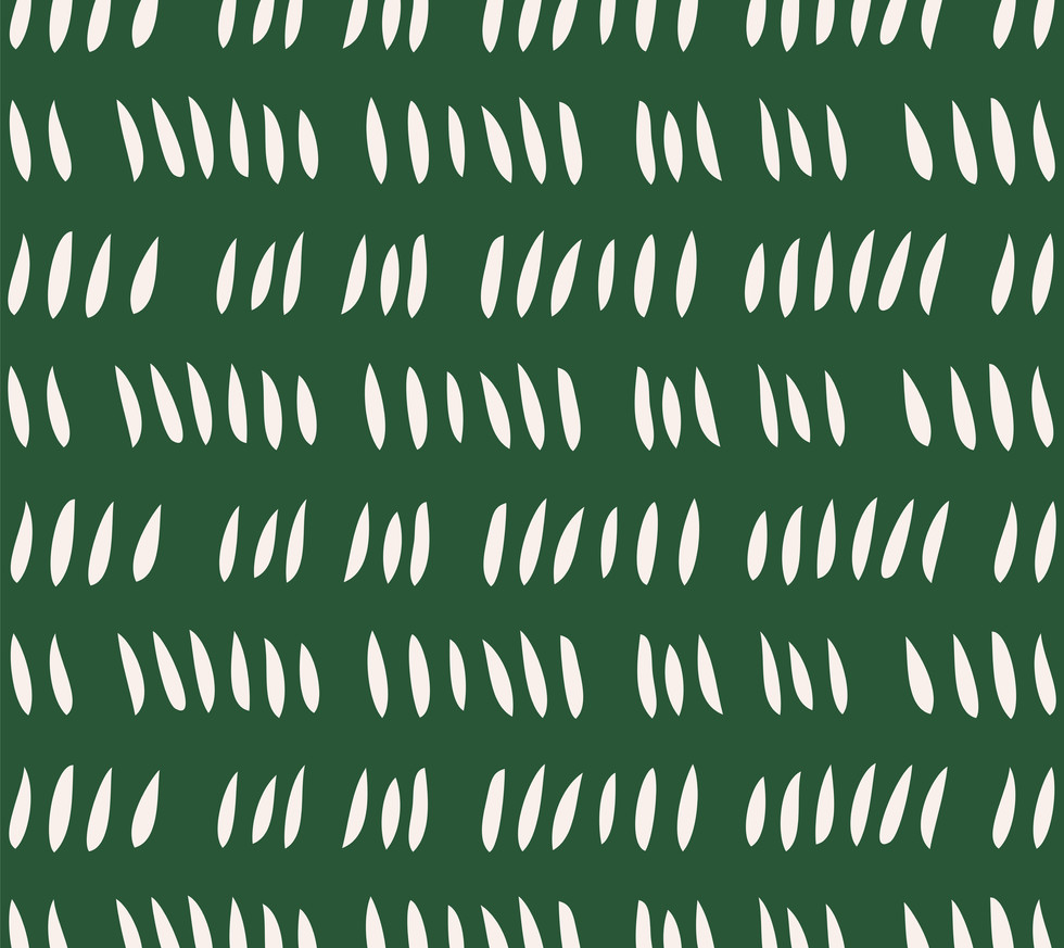 Hash Row Cutouts . Ivory Fern