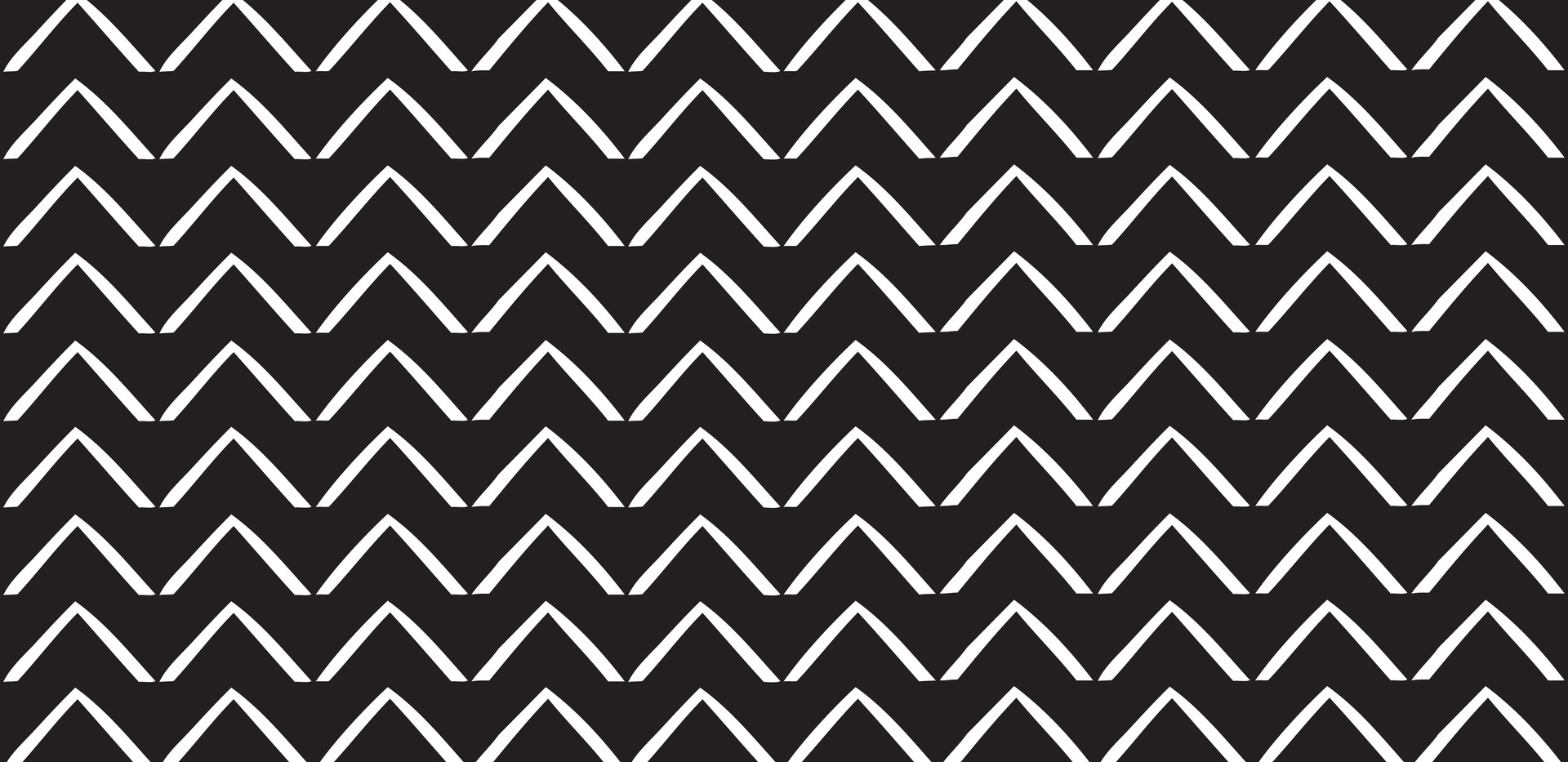 ZigZag Arrows . Black Onyx