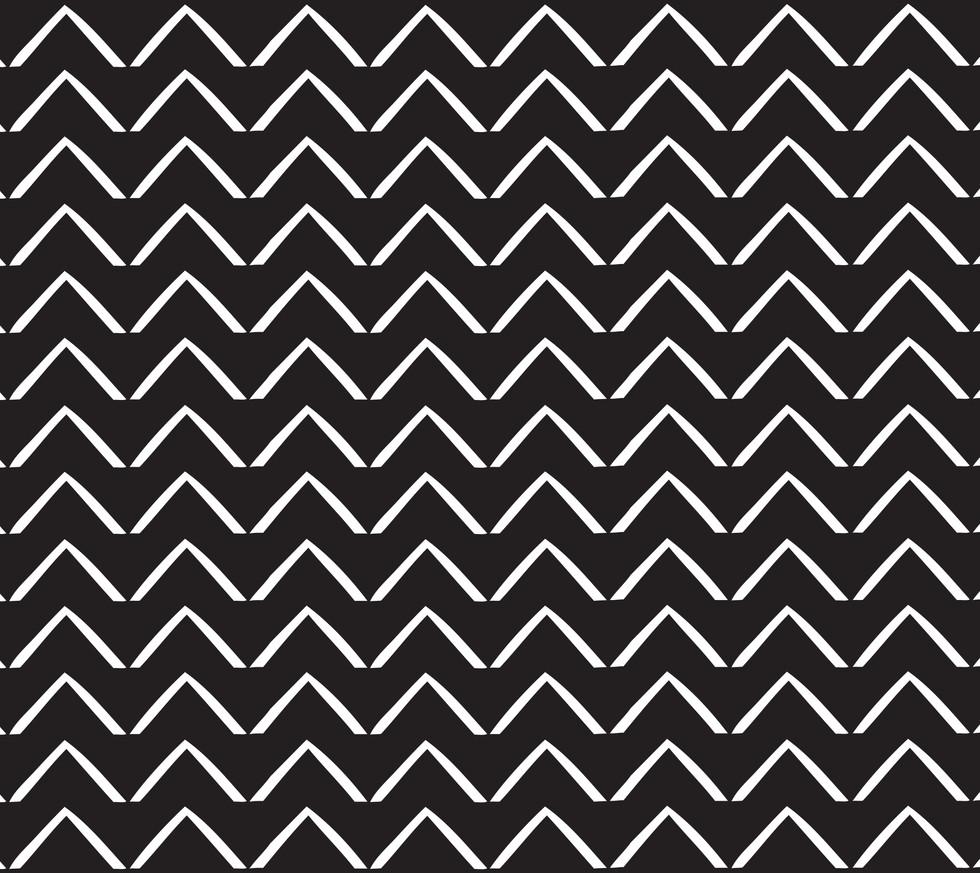 ZigZag Arrows . Black Onyx