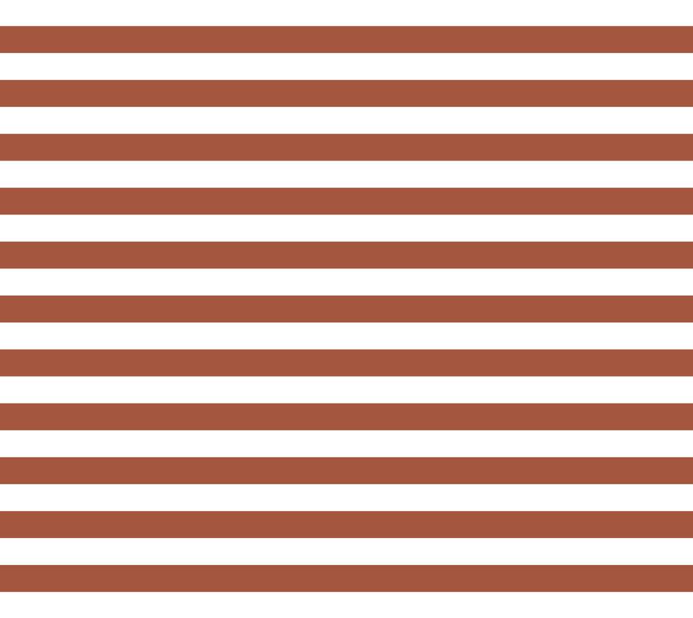 Cabana Stripe . Brick