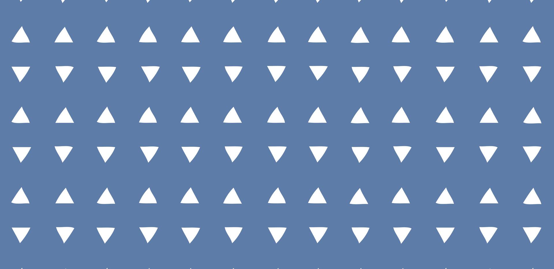 Tiny Triangles . Azure