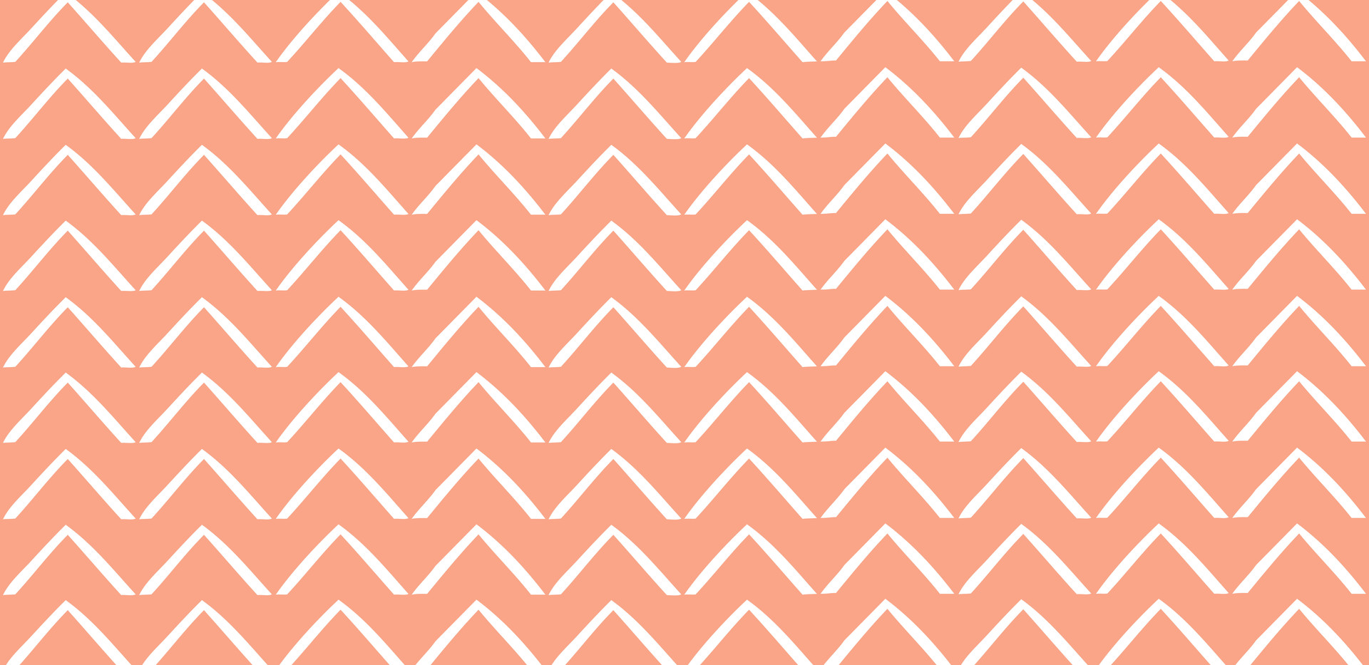 ZigZag Arrows . Coral