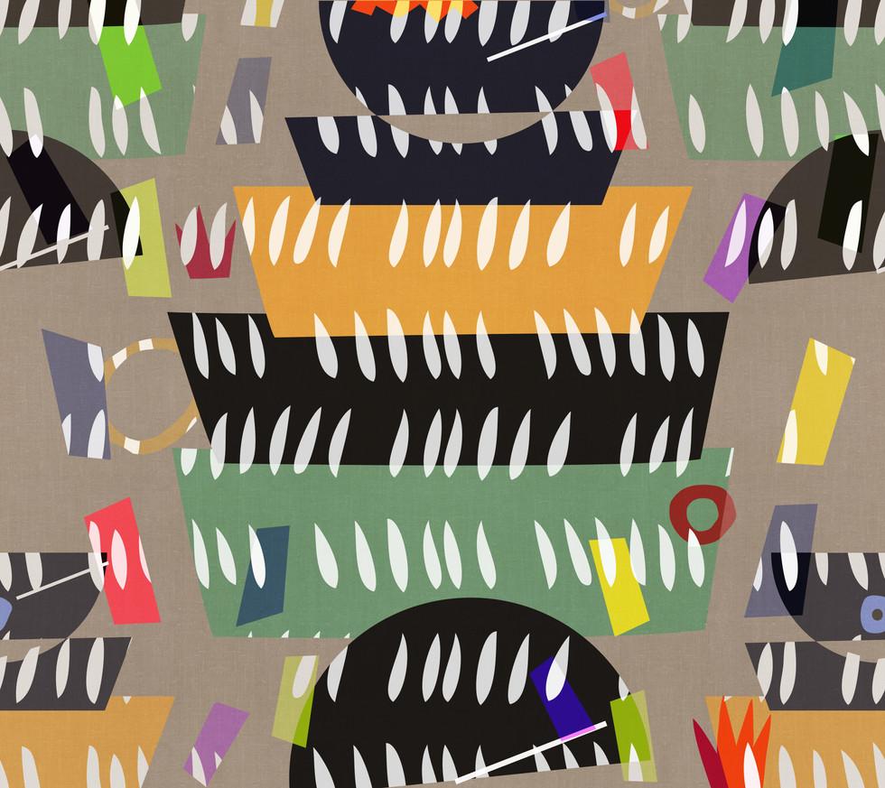 Matisse . Udon Party #3 Linen