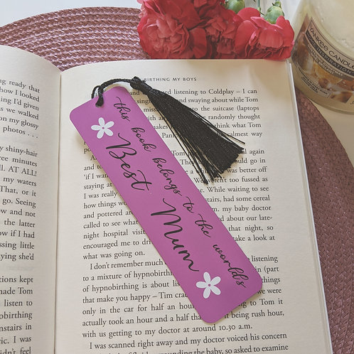World's Best Mum Bookmark
