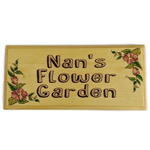 Nan's Flower Garden Sign