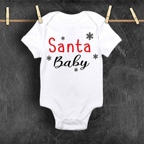 Santa Baby Christmas Bodysuit