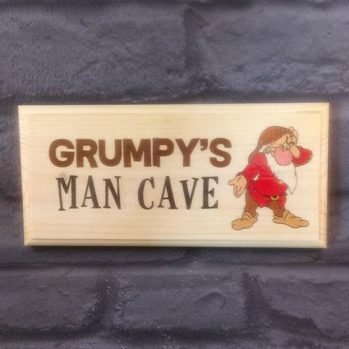 Grumpy's Man Cave Sign