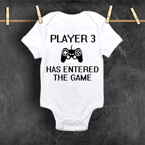 Custom Player 3 Has Entered The Game Bodysuit