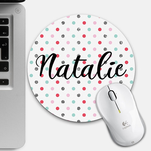 Custom Spotty Mouse Mat