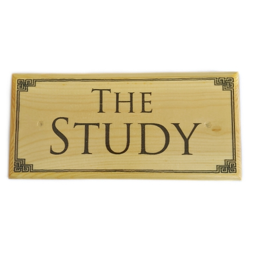 The Study Sign
