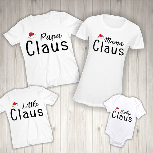 Claus Family T-Shirts