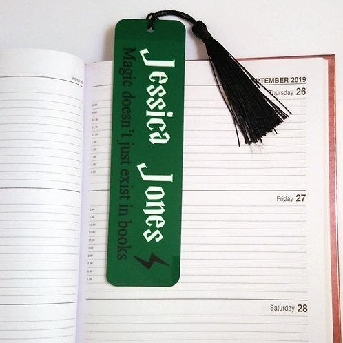 Custom Harry Potter Inspired Bookmark