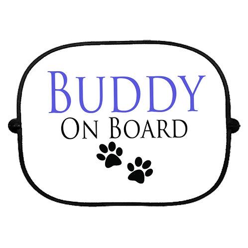 Personalised Dog On Board Sun Shade