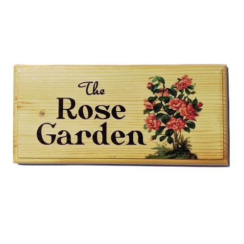 The Rose Garden Sign