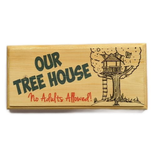 Our Treehouse Sign