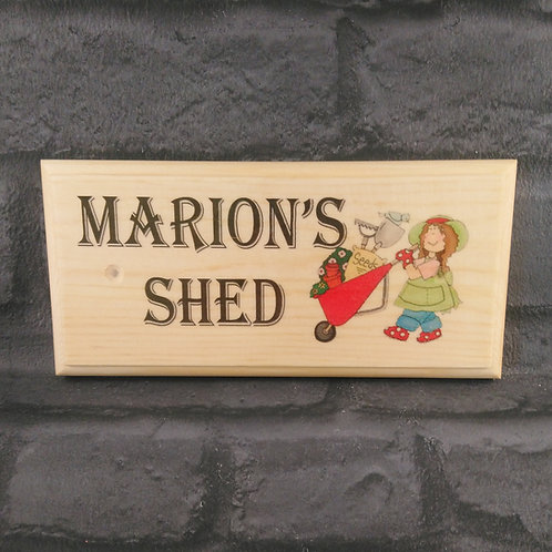 Custom Shed Sign