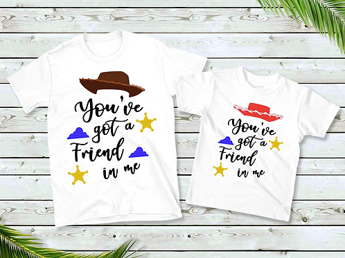 You've Got A Friend In Me T-Shirts