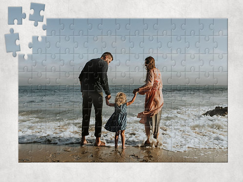 Your Photo on a Jigsaw Puzzle