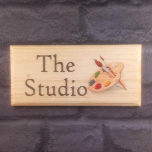 The Studio Sign