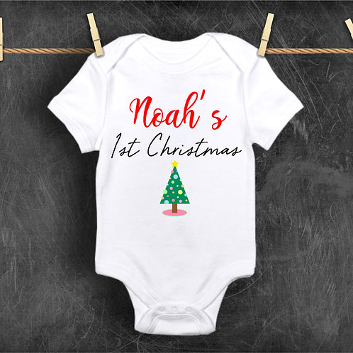 Personalised 1st Christmas - Custom First Christmas
