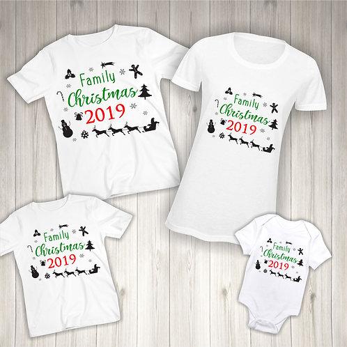 Family Christmas 2019 T-Shirts