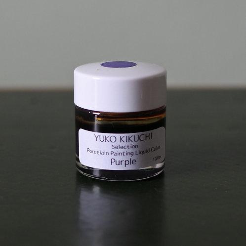 Porcelain Painting Liquid Color Purple 10g