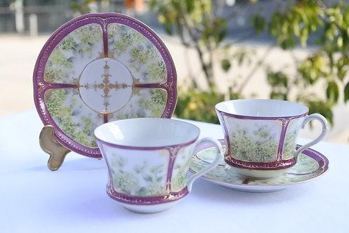 Secret Garden Tea Cup & Saucer