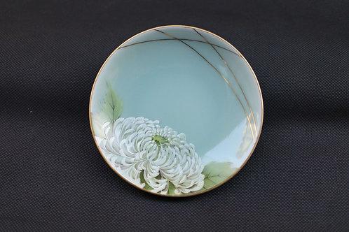 Celadon Chrysanthemum, Saucer/Serving plate