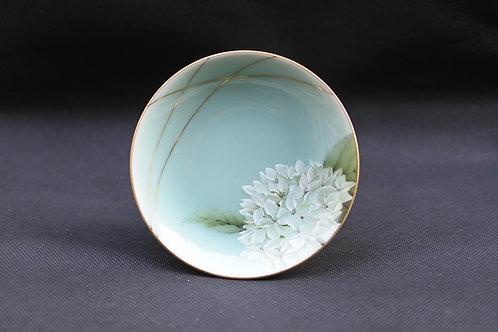 Celadon Hydrangea, Saucer/Serving plate