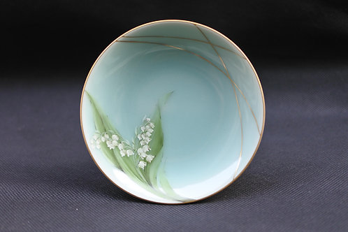 Celadon Lily of the valley, Saucer/Serving plate