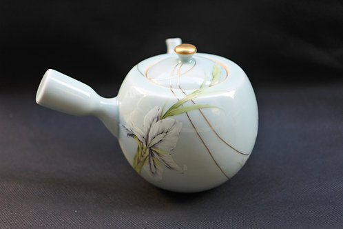 Celadon Iris Tea pot