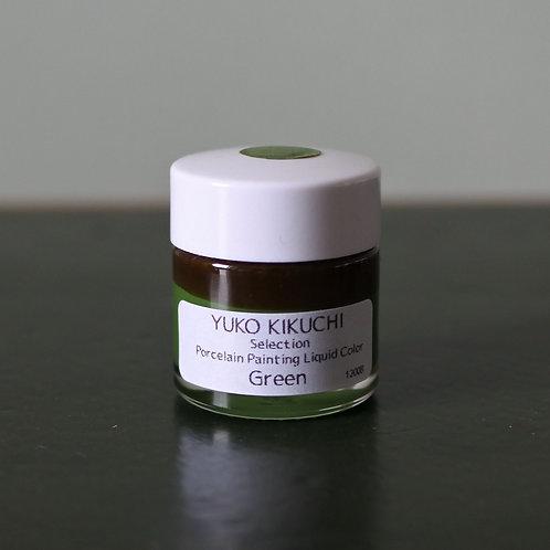 Porcelain Painting Liquid Color Green 20g