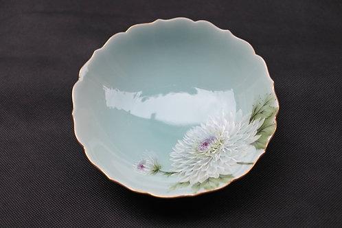 Celadon Chrysanthemum, Round bowl