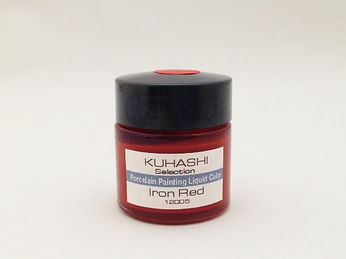 Porcelain Painting Liquid Color Iron Red 20g