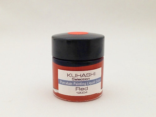 Porcelain Painting Liquid Color Red 20g