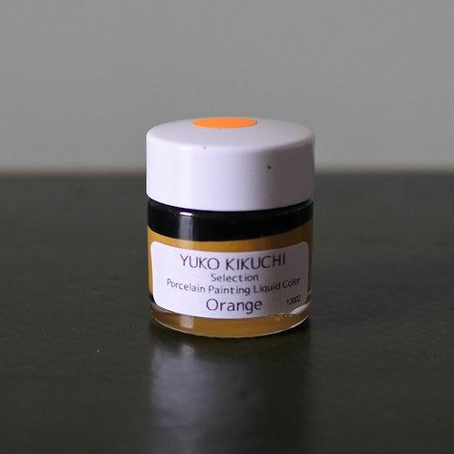 Porcelain Painting Liquid Color Orange 20g