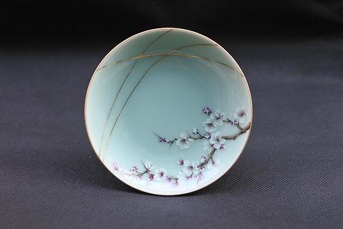 Celadon Plum blossom, Saucer/Serving plate