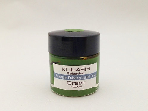 Porcelain Painting Liquid Color Green 20g