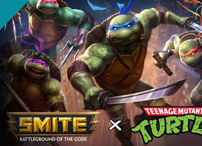 SMITE GETS NINJA TURTLE BATTLE PASS